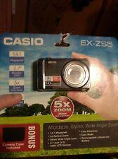 Casio Exilim EX-ZS5 Digital Camera black 14.1MP, 5X Wide Optical