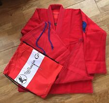 A1 Red Merciless Gi, Brazilian Jiu Jitsu, BJJ Gi, Kimono