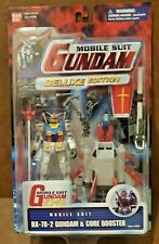 NEW SEALED Gundam RX-78-2 Gundam DELUXE EDITION WITH MORE WEAPONS & BOOSTER