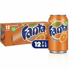 Fanta Orange Soda Caffeine Free (pack of 12)