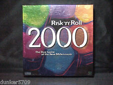 RISK'N'ROLL 2000 OF THE NEW MILLENNIUM DICE GAME PARKER BROTHERS HASBRO