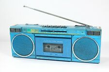 Vintage Teal Lenoxx Sound CT729 AM FM Radio Integrated Circuit Stereo Deck