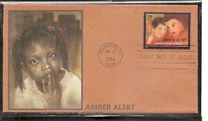 US SC # 4031 Amber Alert FDC.  Fleetwood Cachet