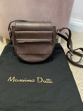 Massimo Dutti Super Soft Brown Shoulder Bag New With Dust Bag