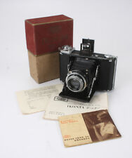ZEISS IKONTA 521/16, 75/3.5 TESSAR, BOXED, SHUTTER PROBLEMS, AS-IS/cks/189512