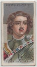 Peter the Great Russian Czar Tsar Russia Moscow  90+ Y/O Trade Card