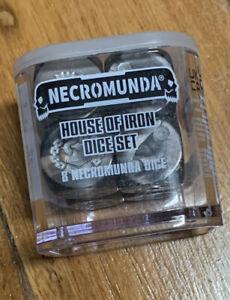 Games Workshop House Of Iron Dice set Necromunda NIB