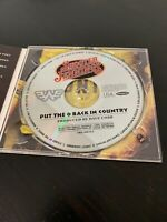 Shooter Jennings  Put the O Back in Country  U.S. promo cd, digipak cover Waylon