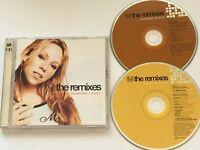 MARIAH CAREY - The Remixes. Australian Double CD