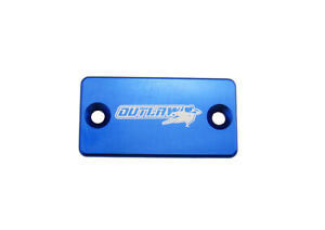 Outlaw Racing OR104BU Billet Front Brake Cap Blue Yamaha YZ85 TTR125L 2001-2015
