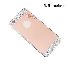Ultra Bling Del Diamante Purpurina  Espejo  Funda Para iPhone 6 6s 7 7Plus