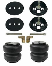 """Chevy C10 Rear Bracket AirLift Bags D2600 Air Ride Suspension Mount 1963-72 1/4"""""""