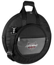 Ahead Armor Cymbal Bag Case 24 Deluxe Heavy Duty w/ Handles & Shoulder Strap - A