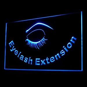 160069 Eyelash Extension Eye Shadow Lining Display Neon Sign