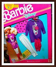 Vintage Barbie Clothes - 1980's Disney Character Fashions #9207 - NRFP Mattel