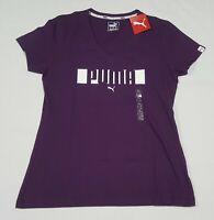 PUMA Women's Essential  T-Shirt Tee Basic Urban Sports Logo Tee