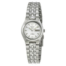 Seiko 5 Automatic Silver Dial Stainless Steel Ladies Watch SYMK31