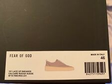 Fear of god 101 lace up sneakers light brown size 13 new