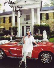 JOANNA LUMLEY Autographed Signed Photograph - To John