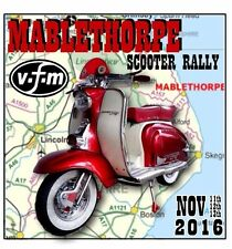 2016 MABLETHORPE SCOOTER RALLY RUN  PATCH BSRA MODS SKINHEADS not PADDY SMITH
