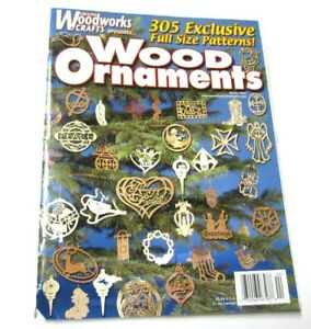 Creative Woodworks & Crafts Magazine 305 Patterns Wood Christmas Ornaments