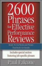 2600 Phrases for Effective Performance Reviews : Ready-to-Use Words and Phrases