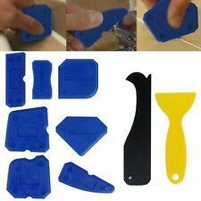 9x Sellador de silicona Kit de acabado El calafateo herramienta Remover raspador