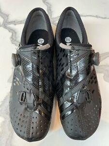 Bont Helix road cycling shoes Colour Black Size UK10 EU45