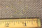 "1/8"" SOLID BRASS VERY TINY BRADS 25 NAILS #23 gauge Escutcheon pins USA made"