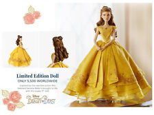 """LIMITED EDITION Disney Beauty and the Beast Live Action BELLE Doll 17"""" EMMA"""