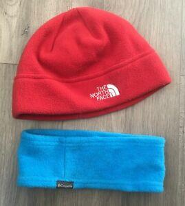 The North Face Fleece Beanie Hat & Columbia Fleece Headband