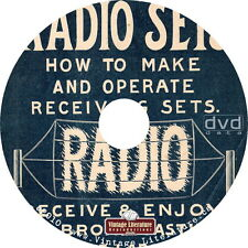 Vintage Radio Manuals & Catalogs ~ How To Books & Plans on DVD