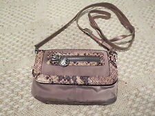 "Nice Brighton ""twister pouch"" small purse, Taupe"