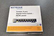 NETGEAR 8-Port Gigabit Ethernet Unmanaged Switch, NEW