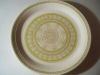 VINTAGE FRANCISCAN GREEN HACIENDA '' EARTHENWARE DINNER PLATE 10 3/4''