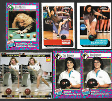 7)SI Kids BOWLING/BILLIARDS Cards-Kristin Quah/Tish Johnson/Stephanie Schwartz+