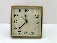 Antique IMHOF SWISS Movement Clock 7 Days With Alarm