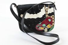 RARE Louis Vuitton Black Monogram LTD Edition Giraffe Handbag Purse Crossbody