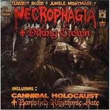 NECROPHAGIA/VIKING CROWN-DRAPED IN TREACHERY-DOBLE CD-Killjoy-Phil Anselmo