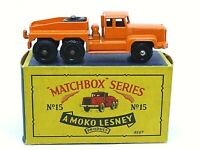 Matchbox Lesney No.15b Rotinoff Super Atlantic Prime Mover Type 'B4' Series Box