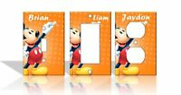 PERSONALIZED Mickey Mouse Light Switch Covers Disney Home Decor Outlet