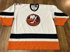 MENS XL - Vtg NHL New York Islanders Hockey CCM Glued On Jersey Made Canada
