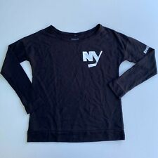 Reebok Long Sleeve T-Shirt Women's S Black New York Islanders NHL Hockey NWOT