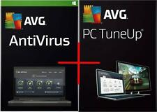 AVG AntiVirus + PC TuneUp 2017 Version for 2 PCs & for 1 year - SPECIAL PRICE