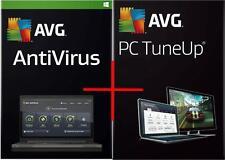Antivirus Avg + PC TuneUp versión 2017 para 2 PC & durante 1 año-Precio Especial