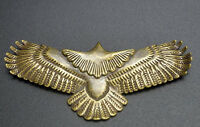 Chinese pure brass eagle Small pendant