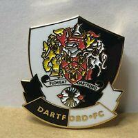 Dartford Football Club Enamel Badge  Non League Football Clubs