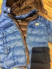 Armani Blue Boys Puffer Jacket