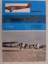 Warpaint 81 - Junkers Ju 52 - Color Profiles - Line Drawings