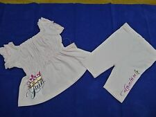 """NWT Juicy Couture """"Choose Juicy""""pink tunic with leggings size 3-6 months"""